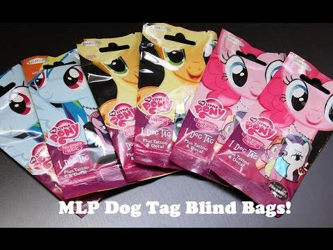 My Little Pony - Dog Tag Blind Bags - Opening/Review!