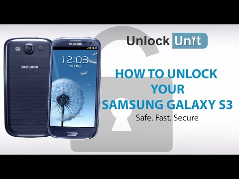 HOW TO UNLOCK YOUR SAMSUNG GALAXY S3