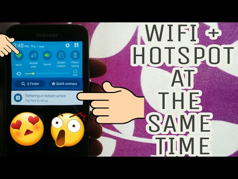 How to Turn On WiFi and Hotspot at The Same Time on Your Android