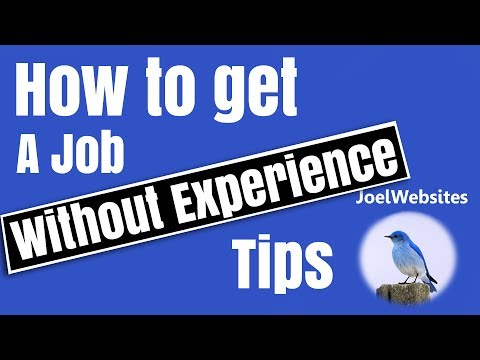 How to get a job with No Experience!