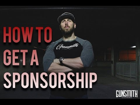 How To Get A SPONSORSHIP With Any Company