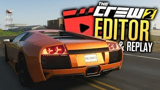 The Crew 2 REPLAY MODE & VIDEO EDITOR?! (Drift Montage)
