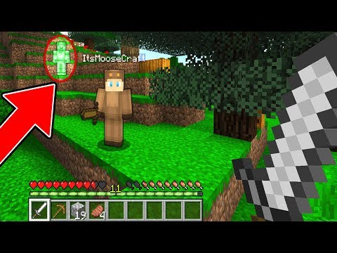 I FOUND GREEN STEVE WITH MOOSECRAFT! (Scary Minecraft Video)