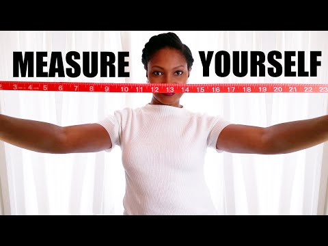HOW TO MEASURE YOURSELF for Online Shopping & Sewing | BlueprintDIY