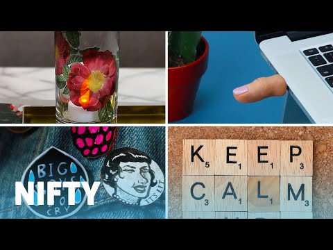 11 Easy DIY Crafts For Your Home And Office