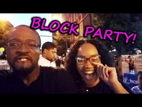 BLOCK PARTY! - Highlight of my week at PA School || Diary of a PA Student
