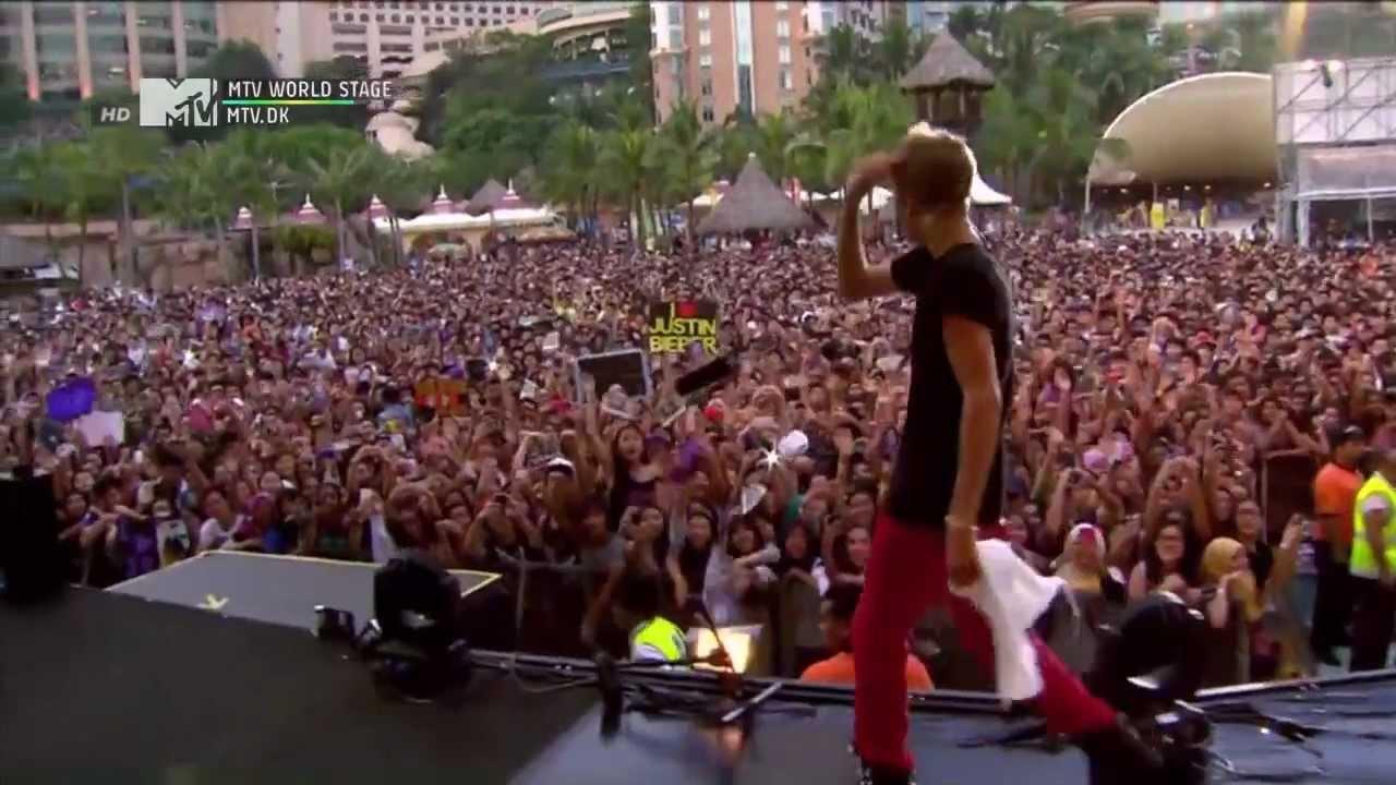 Download Justin Bieber Boyfriend at MTV World Stage Malysia MP3 Gratis