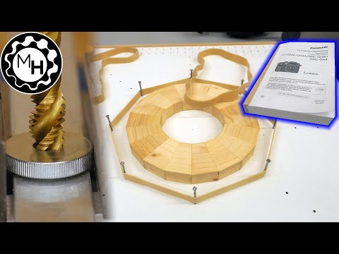 Ring Glue-up Jig, Book Binding, Knobs and more (Random Shop Stuff 15)