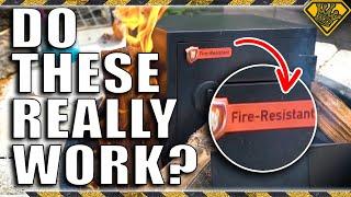 Testing Fire Resistant Safes
