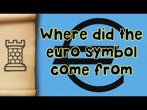 Where did the Euro symbol come from?