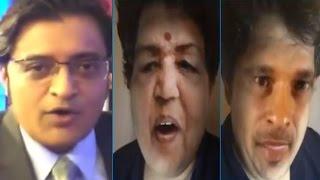 Arnab Goswami on Tanmay Bhat