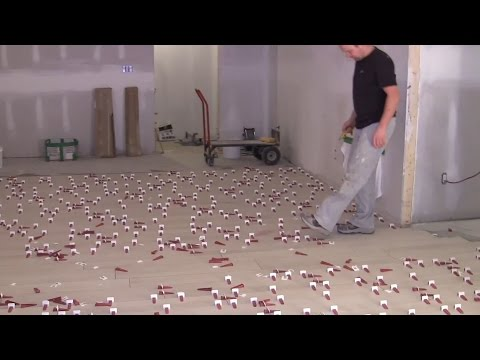 Wood Look Plank tile installation 8