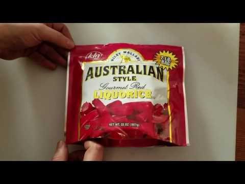 food review: Wiley Wallaby Australian Style RED Licorice Candy