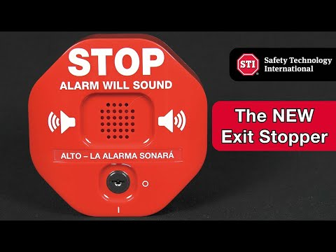 STI 6400 Exit Stopper - NEW Product Features