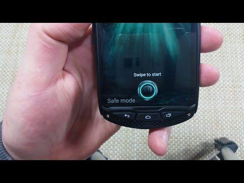 Kyocera Brigadier How to Turn On Safe Mode, enable or disable SafeMode