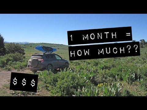 How Much My 4000-mile, 1-Month Road Trip Cost (Vandwelling/Car Camping Road Trip)