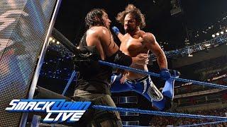 AJ Styles vs. Baron Corbin: SmackDown LIVE, April 18, 2017