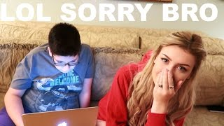 LITTLE BROTHER READS MY HATE COMMENTS
