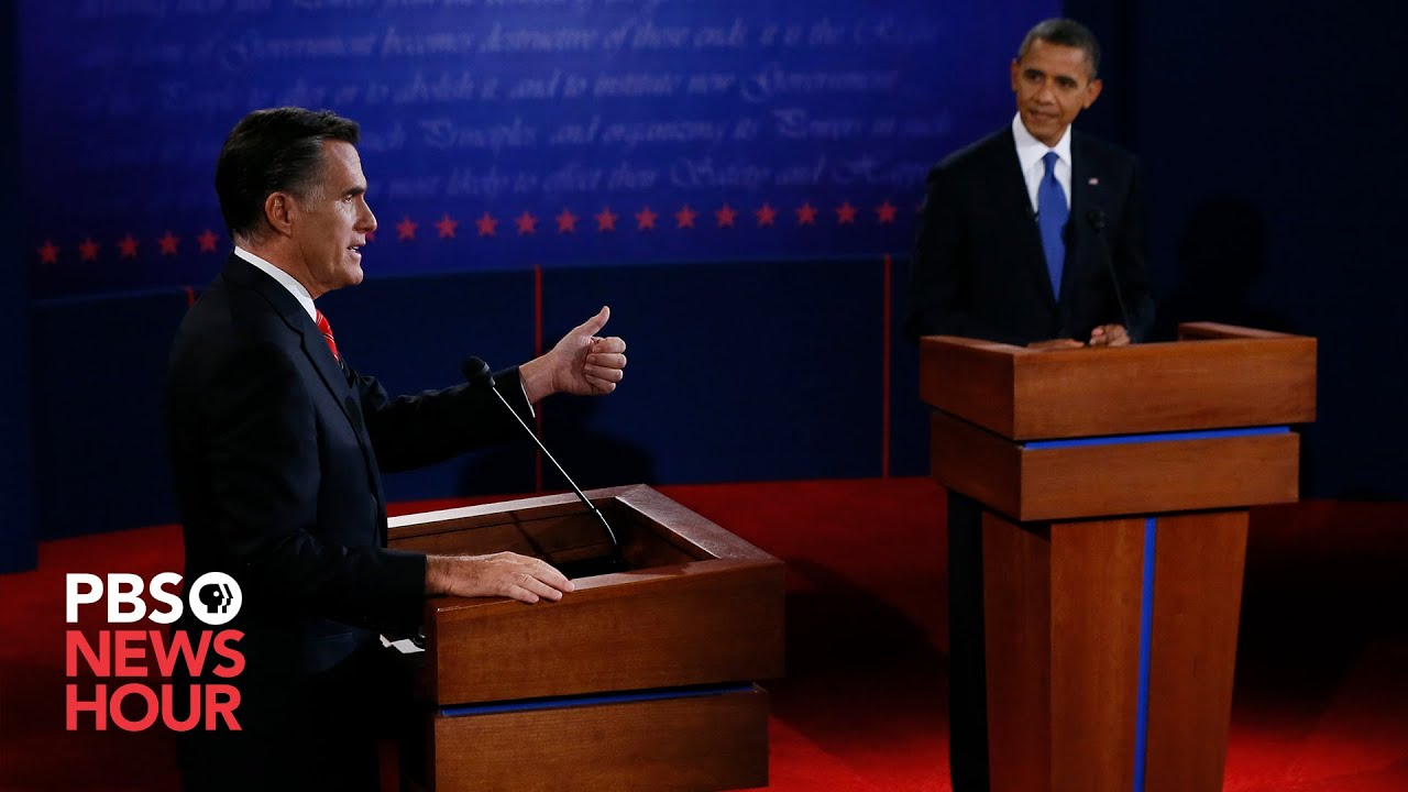 Obama vs. Romney: The first 2012 presidential debate