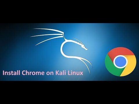 How to install google chrome in kali linux 2017.1