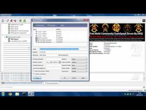 HiQ Multi-Community TeamSpeak Server: Getting Started Video