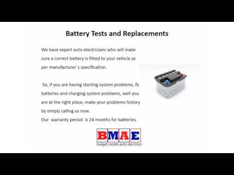 Get Car Battery Replacement Melbourne South East  Budget Mobile Auto  Electrics