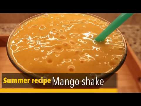 Mango shake - Summer Refreshing Drink