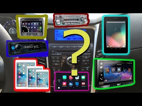 Comparing the options for a new stereo system in my 2011 Hyundai Sonata Limited.
