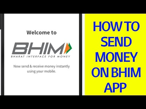 How To Send Money on Bhim App By Using Account Number And IFSC Code
