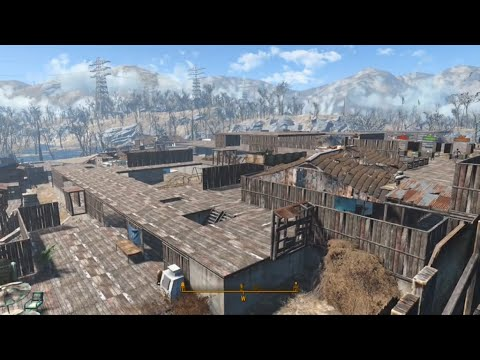 FALLOUT 4 Sanctuary Hills MEGA Settlement UPDATE! FO4 XBOX One Gameplay