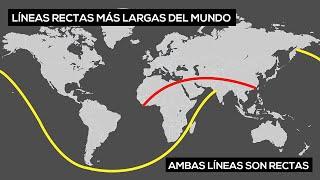 La distancia terrestre y marítima más larga en línea recta