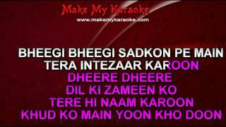 Video Karaoke Sanam Re Unplugged Female Version