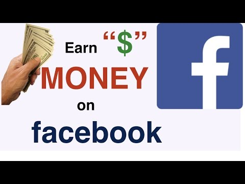 Money ! Money! On Facebook......??????How to Make FB Page..tutorial2018