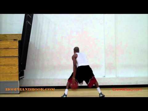 Dre Baldwin: Thru-Legs Dribble Stationary Passing Drill | Basketball Point Guard Jeremy Lin