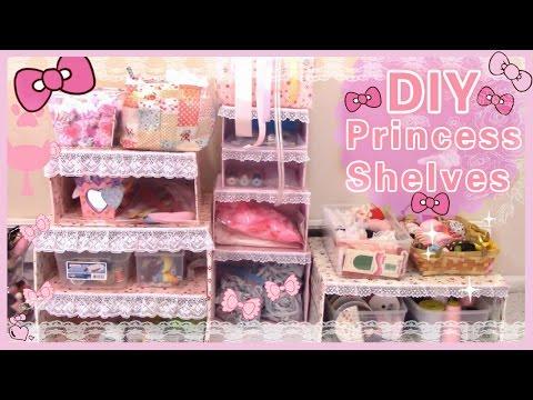 DIY Room Decor   Make Your Own Princess Shelves(Easy)