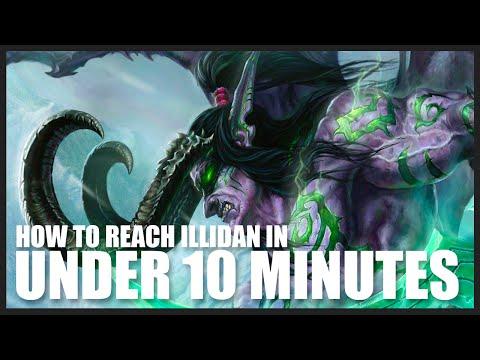 Demon Hunter Black Temple Skip - Get to Illidan in Under 10 Min | World of Warcraft: Legion Guide