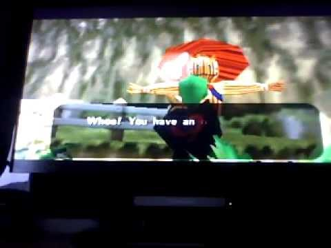 Zelda - Scarecrow Song and 200 Ruppees Fire Temple.wmv