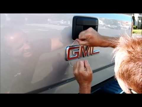 Truck Emblem Removal: Removing the GMC badge