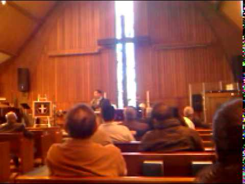 GIVING MY TESTIMONY IN THE BAY AREA CHURCH