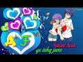 Download A F letter whatsapp status  Ye ishq heart touching whatsapp status video MP3,3GP,MP4