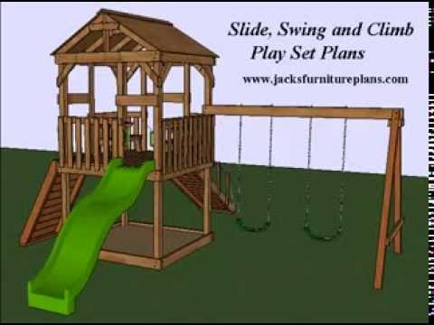 Play Set Swingset Plans Easy To Follow, Step By Step