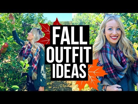 FALL OUTFIT IDEAS | Cute + Affordable!