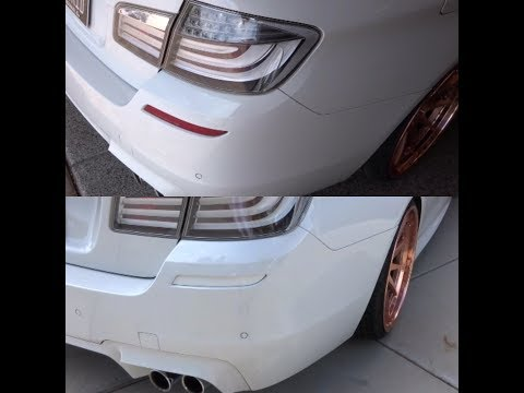 Color Match Your Car's Reflectors! EASY DIY MOD On My F10 BMW M5!