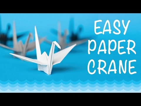 How To Make a Paper Crane: Origami Step by Step-Easy