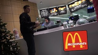 A Normal Day At McDonalds With Yanagi