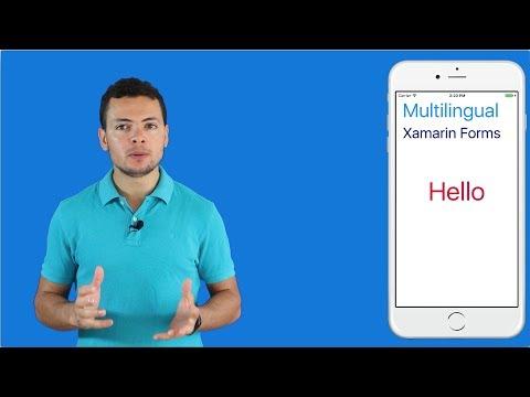 Multilingual in Xamarin Forms