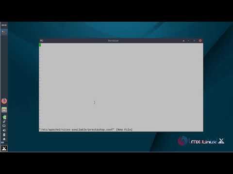How to install Prestashop 1.7.4 on MX Linux 17