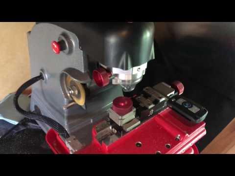 Ace locksmith - Cutting BMW Keys - Laser cut key