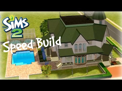 The Sims 2 Speed Build - Victorian Family home