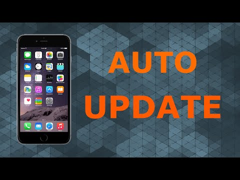 Automatically Update Apps on iPhone